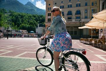 Велосипедные прогулки поКрасной Поляне