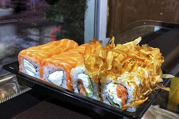 SUSHIлка— суши ироллы ссобой