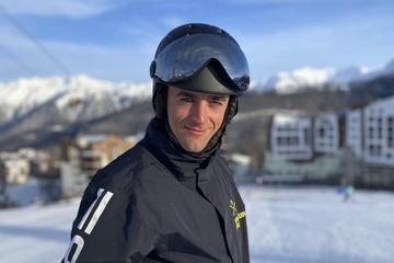 Пётр— инструктор погорным лыжам исноуборду