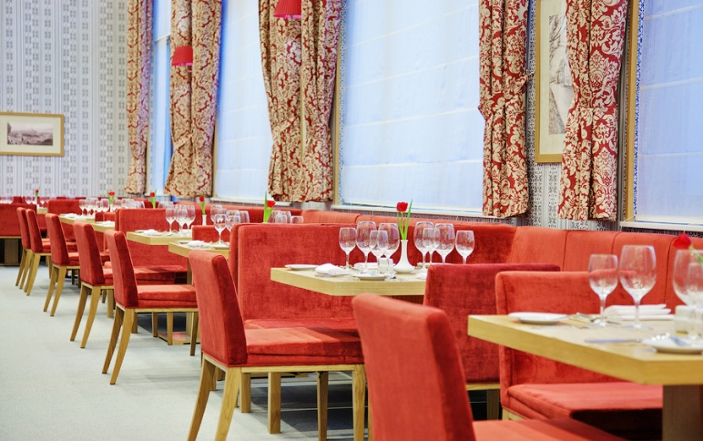 Ресторан «Amsterdam» вотеле «Tulip Inn»