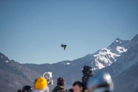 24 марта - контест по метанию сноубордического ботинка RiderHelp Flying Boot