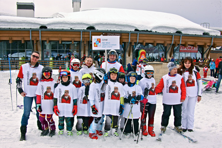 Закончились детские соревнования по горнолыжному спорту «Красная Поляна. Старты Надежд»