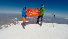 23 июля — 3 августа восхождение на Эльбрус с юга