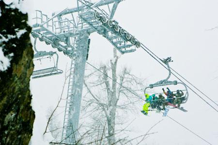 7декабря курорт Горки Город открыл горнолыжный сезон