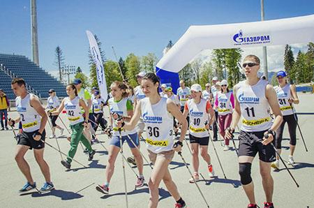 Соревнования поскандинавской ходьбе