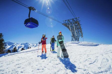 «Газпром» открывает продажу ски-пассов ибронирование отелей