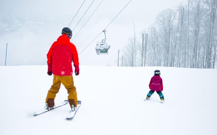 Марина— Инструктор 3-й категории погорным лыжам
