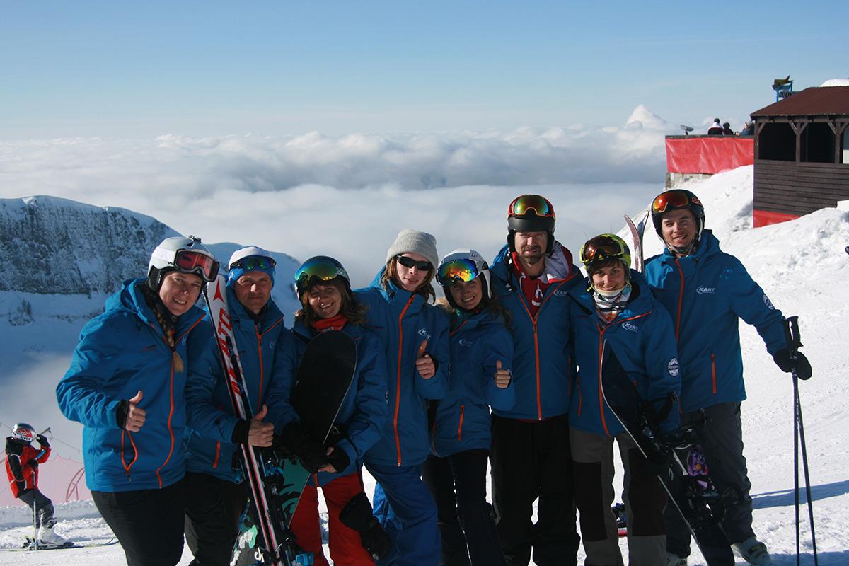 Школа горных лыж исноуборда «КАНТ»