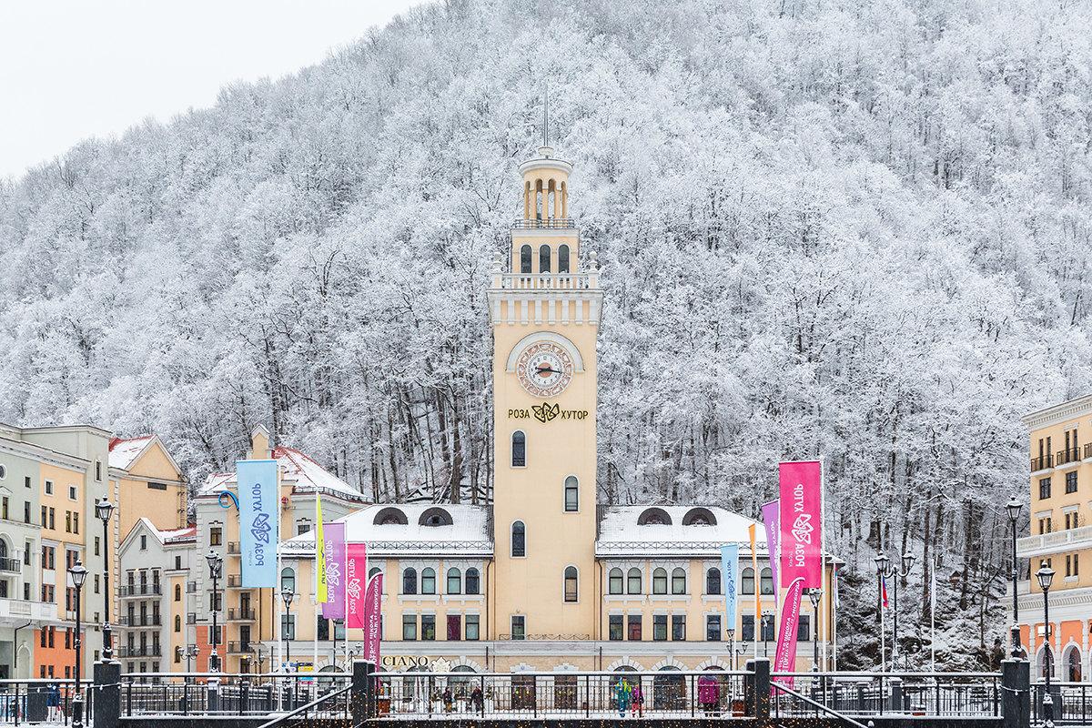 Роза хутор зима картинки