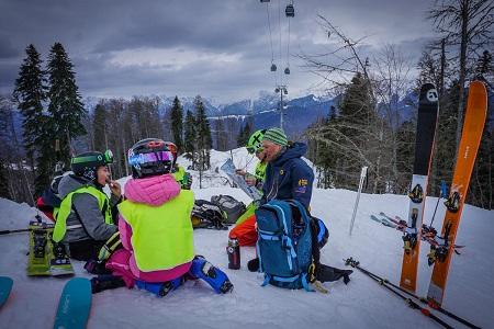 Детский лыжный фрирайд-лагерь
