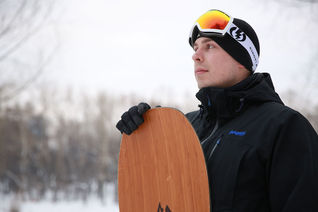 Алексей— инструктор посноуборду.