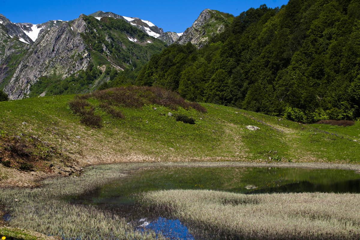 Поход наХмелевские Озера иАчипсинские водопады
