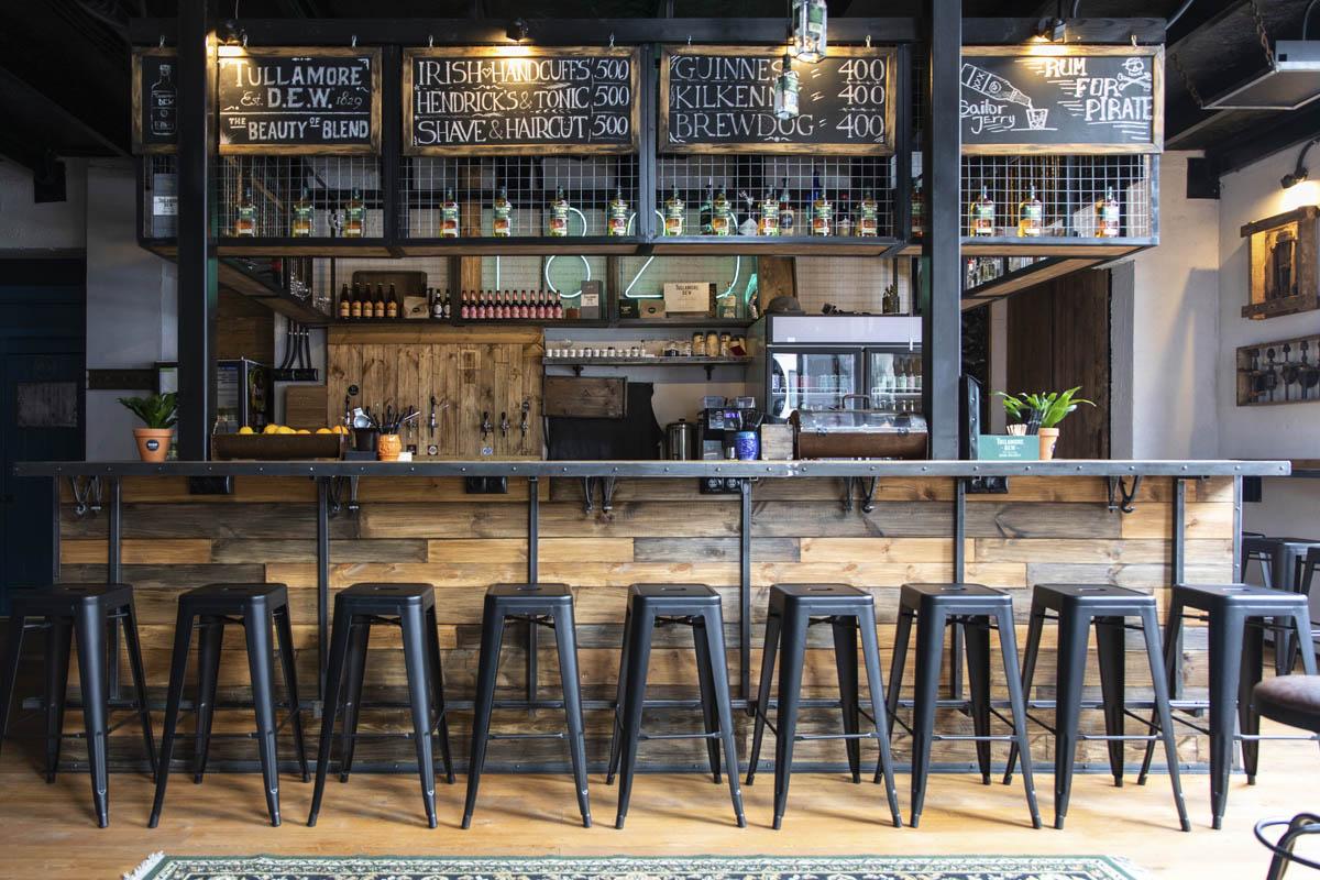 Бар ибарбершоп «1829» исекретный бар «Lumber Room»