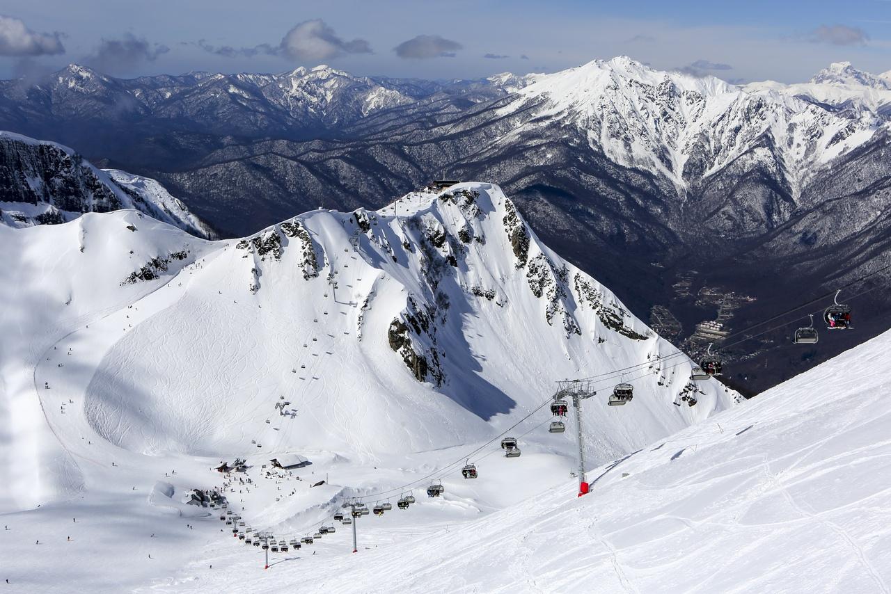 Курорт Красная Поляна открывает горнолыжный сезон