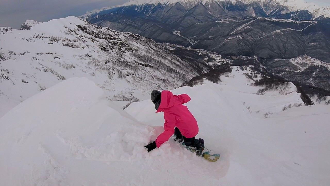 Анна. Сноуборд, Горные лыжи