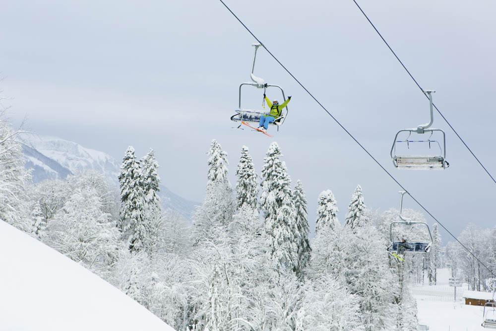 1января открывается горнолыжный сезон накурорте «Газпром— Лаура»