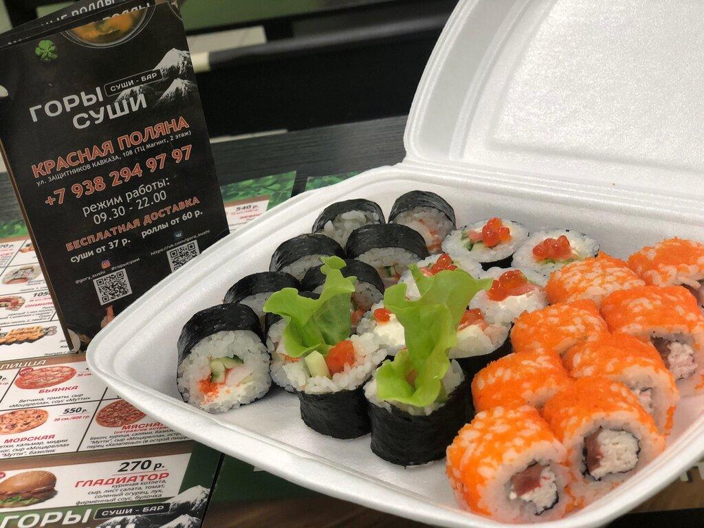 Горы суши