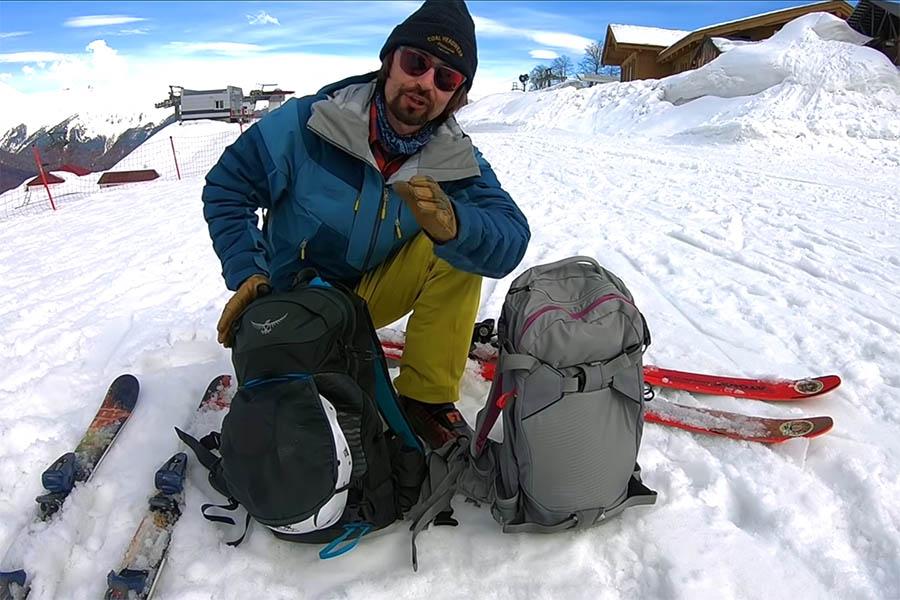 Обзор рюкзаков для фрирайда ибэкккантри